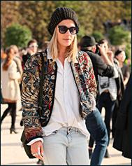Бомбер – стильная куртка