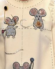 Декоративная строчка от Dolce & Gabbana