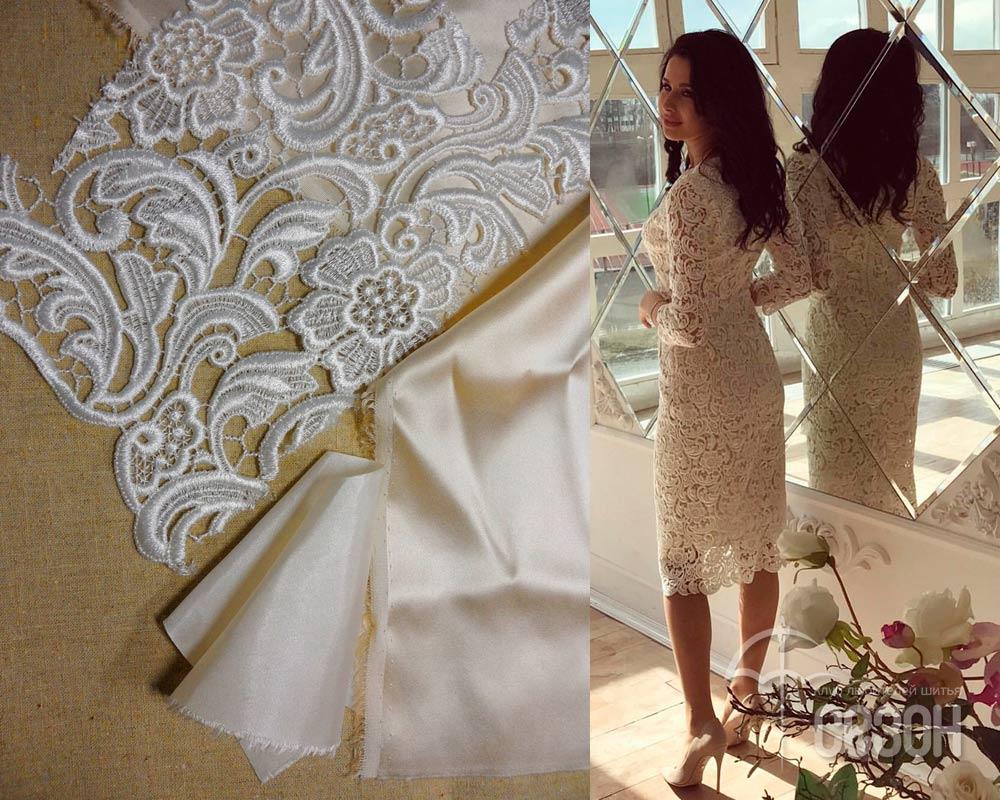 Технология пошива платье