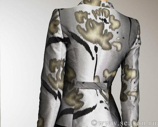Дефект рукава платья