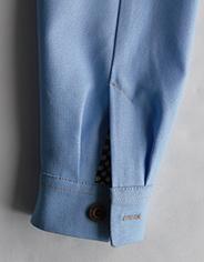 Манжета на рукаве рубашки – однострочная технология