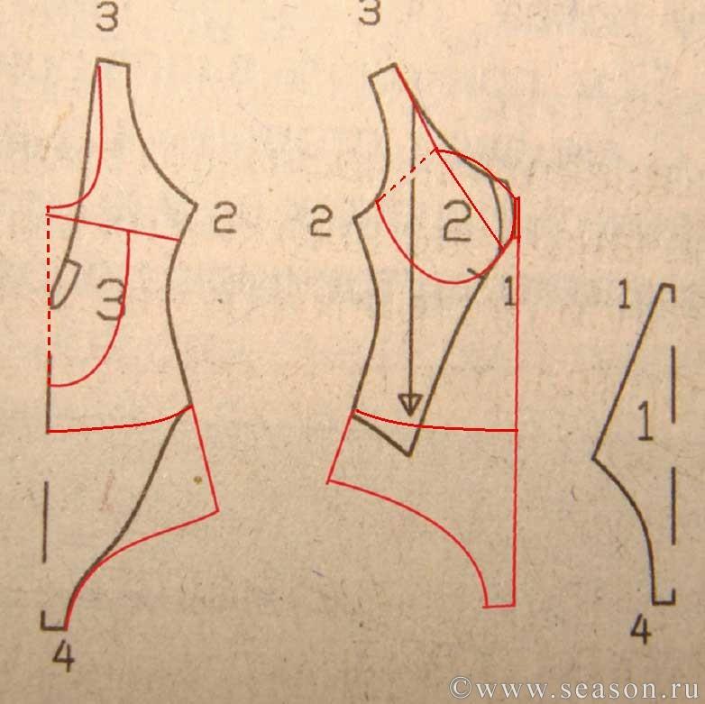 Как сшить купальник своими руками выкройки для художественной гимнастики 71
