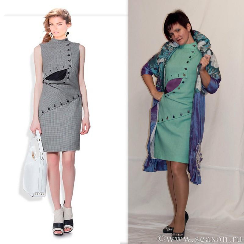 Макеты платьев для шитья