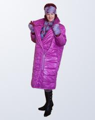 Стёганое пальто – технология сборки