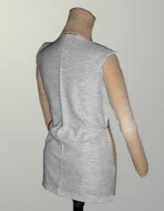 Корректировка заломов спинки в трикотажных изделиях с помощью ВТО