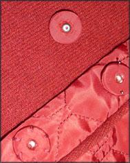 Кнопки, обтянутые тканью