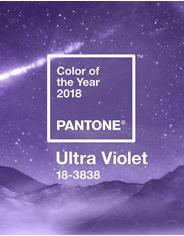 Главные цвета 2018 года по версии специалистов Пантон