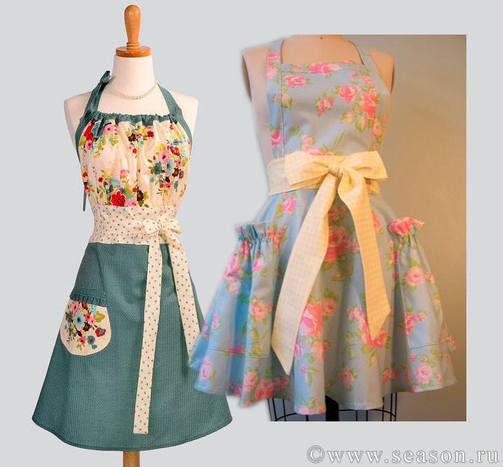 Платье фартук шить