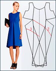 Платье по мотивам JIL SANDER