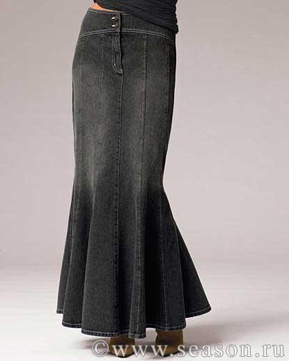 Летние юбки клиньями
