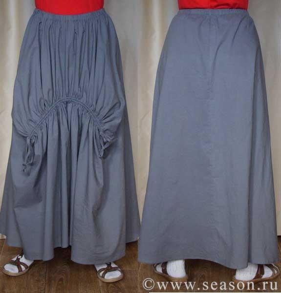 Нестандартный крой юбки