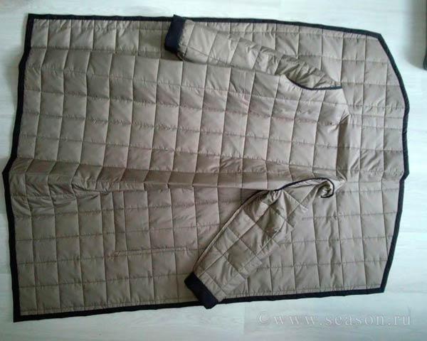 Сшить своими руками одеяло из курток